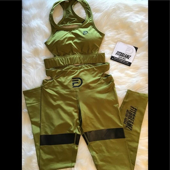 FITDREAMZ Pants - FITDREAMZ 2 PC  Set Athletic Wear